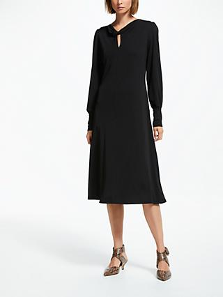 Finery Aveling Cowl Neck Dress, Black