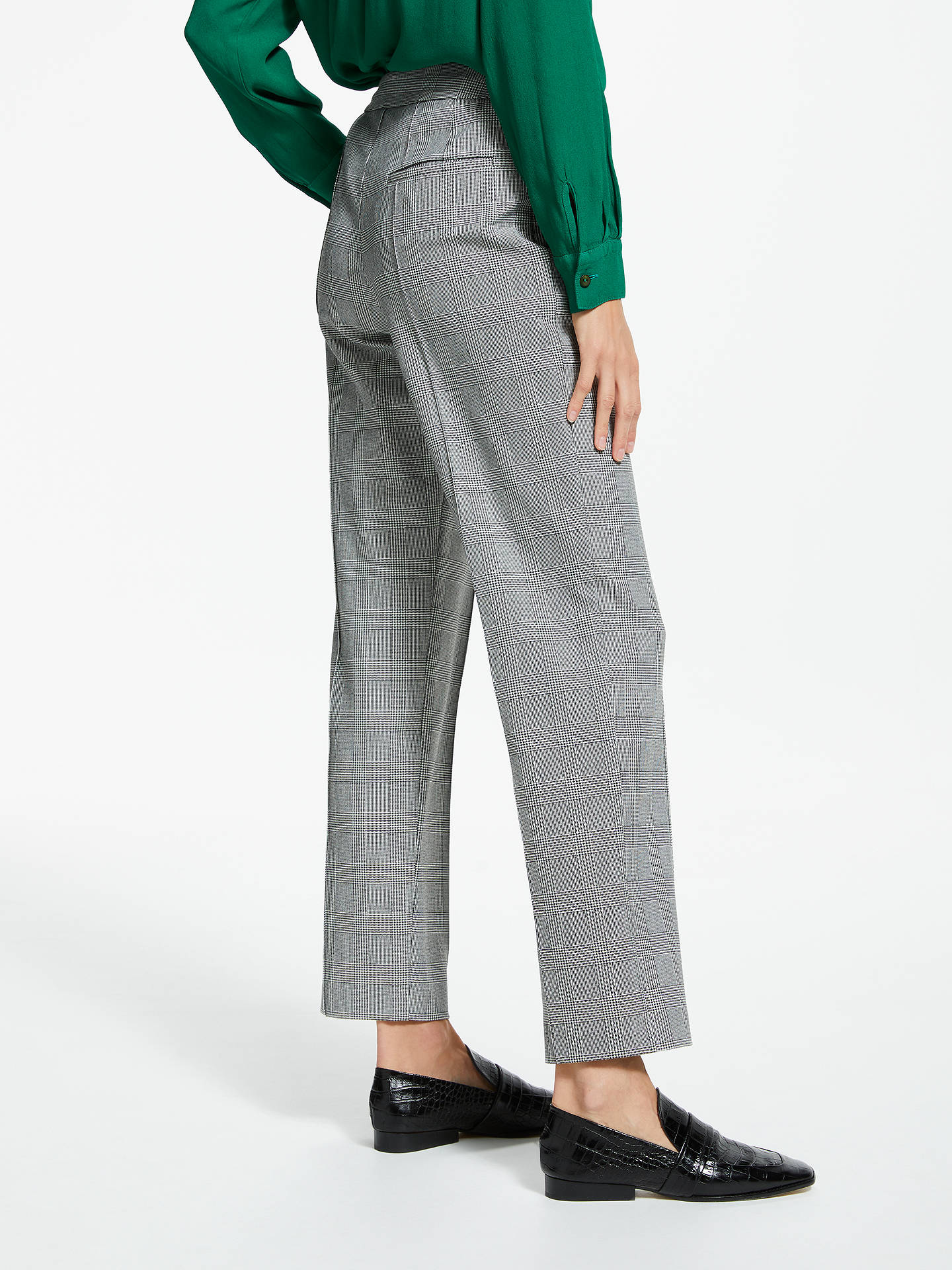 BuyFinery Aisha Trousers, Grey Multi, 8 Online at johnlewis.com