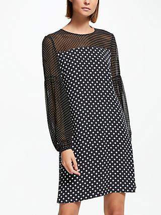 a80ca9efb041 Finery Alexandra Polka Dot Dress