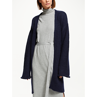 Finery Laurel Cardigan, Blue Navy