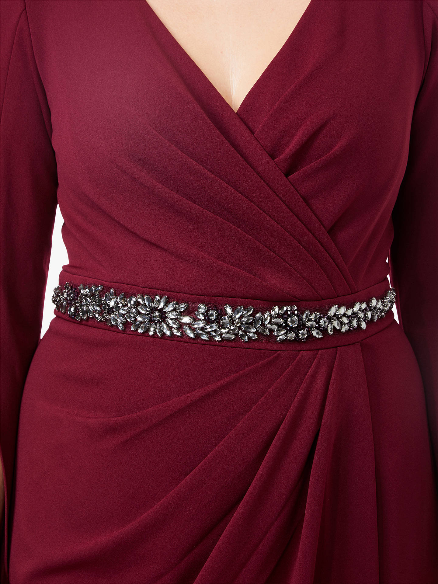 352ac126845 ... BuyAdrianna Papell Plus Size Long Split Sleeve Evening Dress