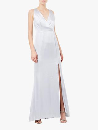 Adrianna Papell Hammered Maxi Dress