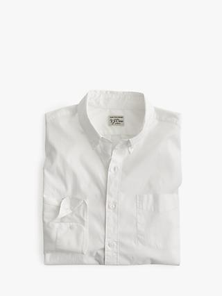 e53043e085 J.Crew Slim Secret Wash Long Sleeve Poplin Shirt, White
