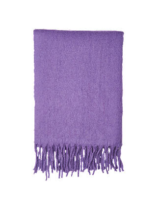 Buy Whistles Open Weave Blanket Scarf, Lilac Online at johnlewis.com