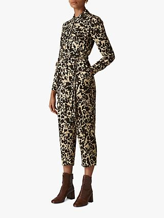 ad1aa632611 Whistles Jungle Cat Utility Jumpsuit