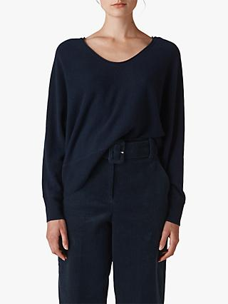 Whistles Relaxed Cashmere Jumper