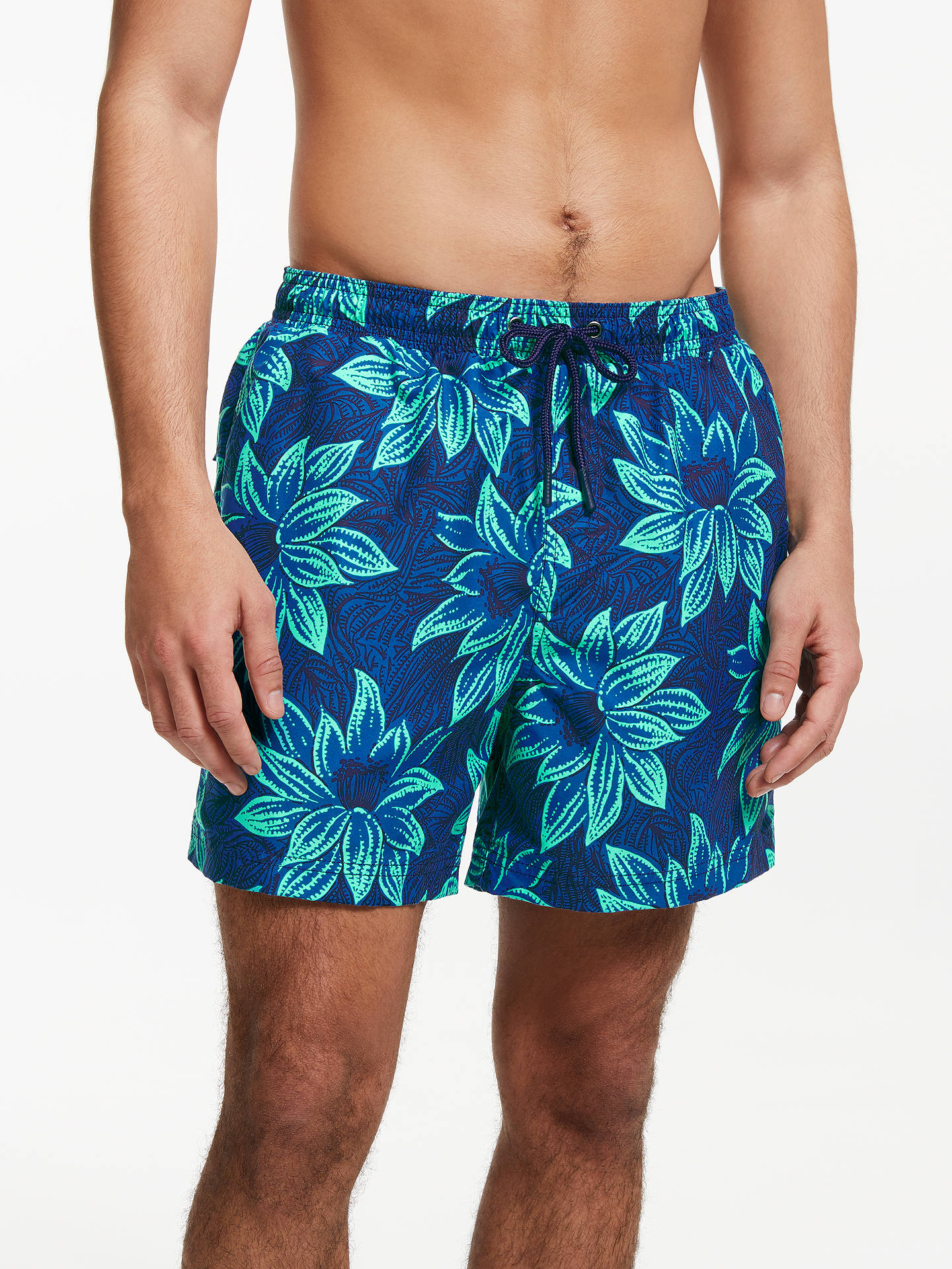 5b3cfb1fb5b7 Buy John Lewis   Partners Floral Print Swim Shorts
