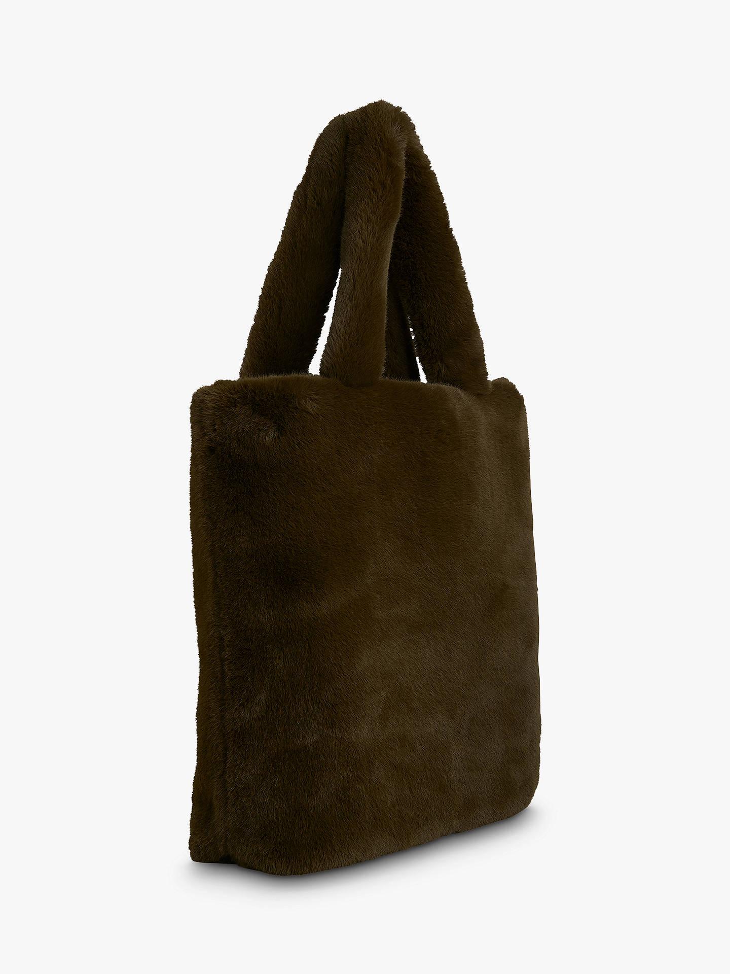 7c66bfb383 ... Buy Whistles Hattie Faux Fur Tote Bag
