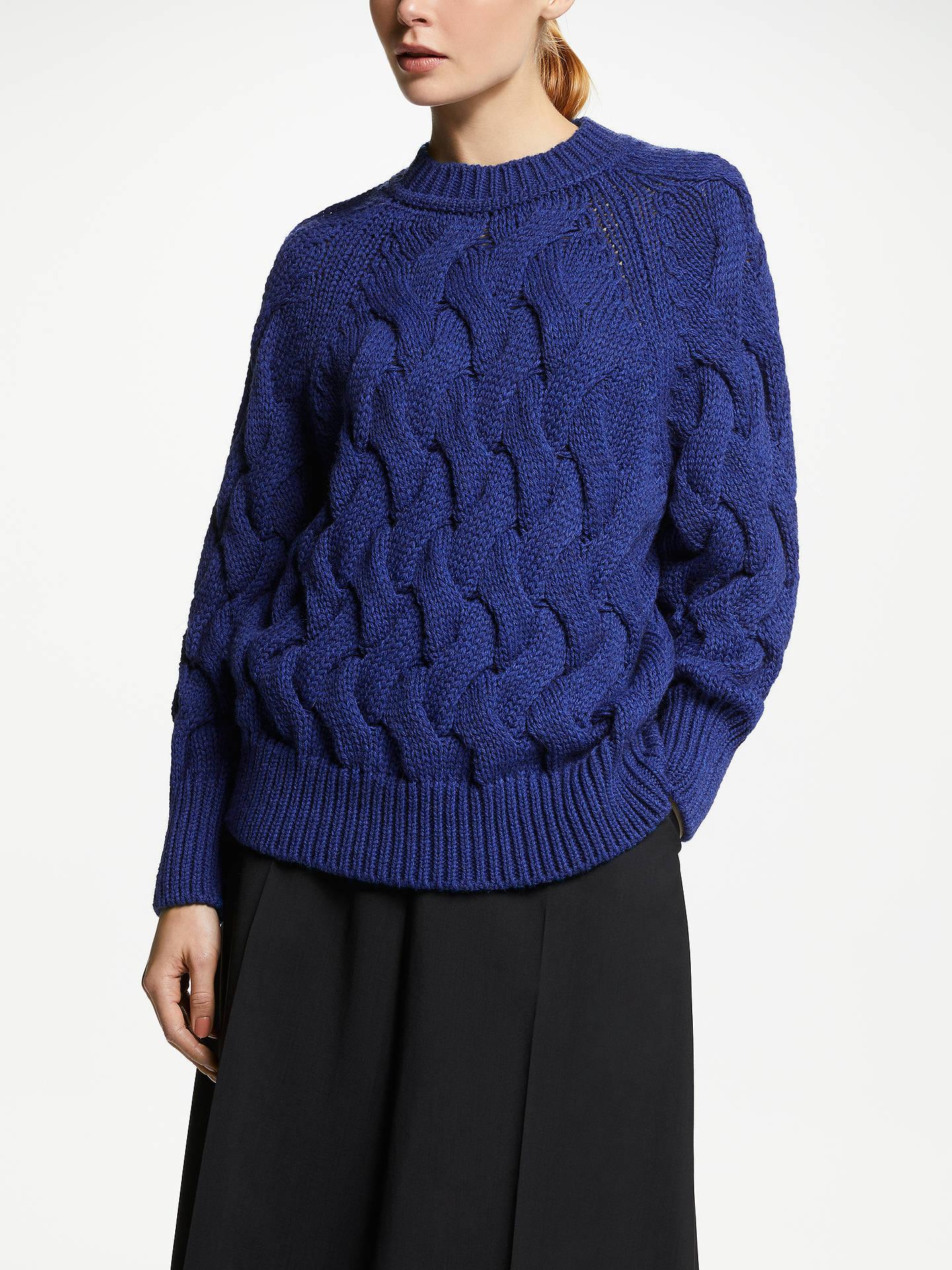6d9cc8c3d9683 John Lewis   Partners Oversized Cable Knit Sweater at John Lewis ...