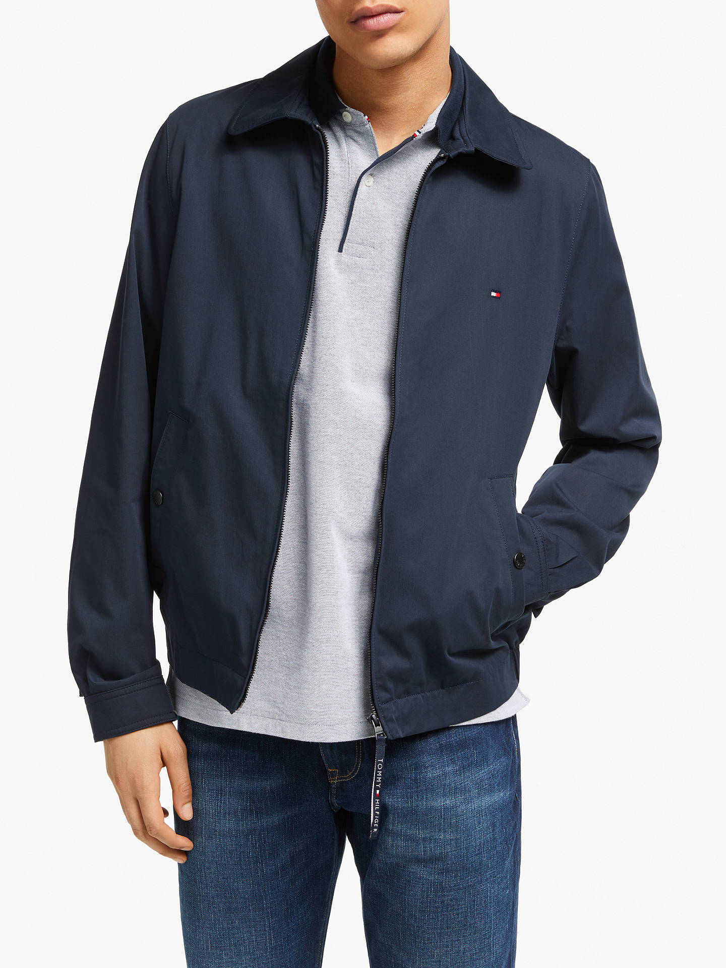 6565c94d Buy Tommy Hilfiger New Ivy Jacket, Sky Captain, XL Online at johnlewis.com  ...
