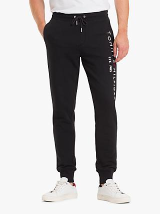 Tommy Hilfiger Basic Branded Sweatpants, Jet Black