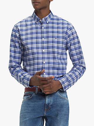 Tommy Hilfiger Mid Scale Check Oxford Shirt, Blue