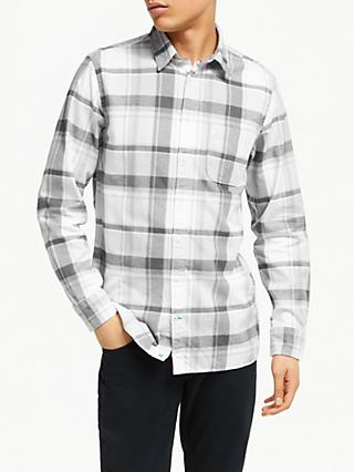 Tommy Hilfiger Classic Heather Check Shirt, Grey