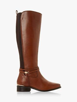 Dune Wide Fit Traviss Knee Boots