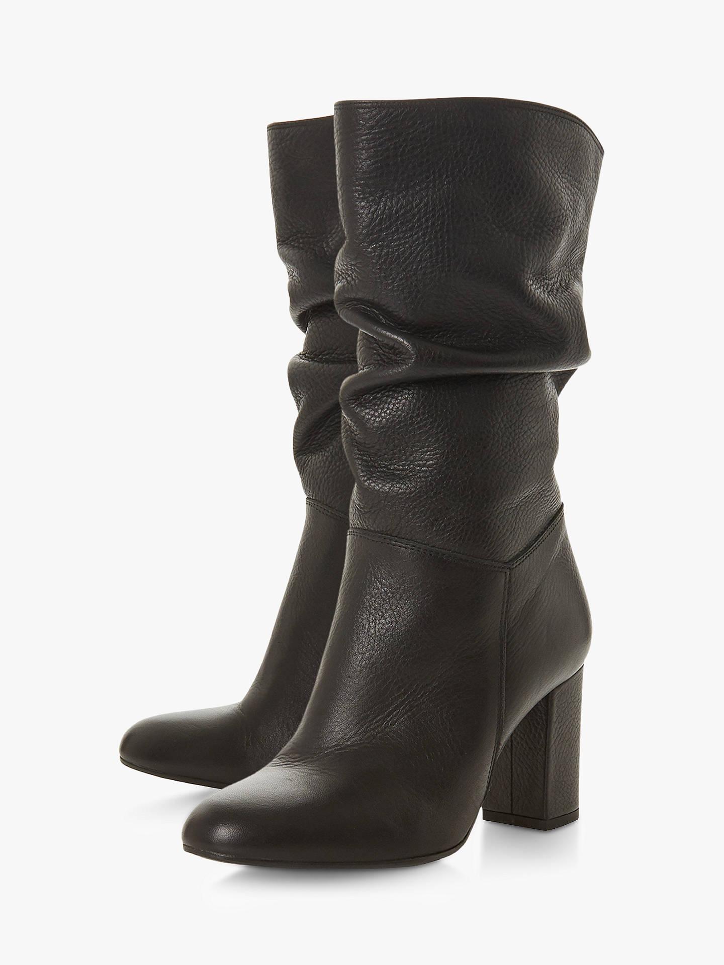 b18492b74d75 Buy Dune Rafaellie Ruched Block Heel Boots