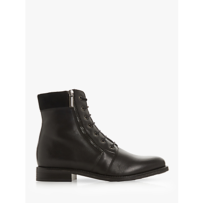 Dune Quad Side Zip Ankle Boots