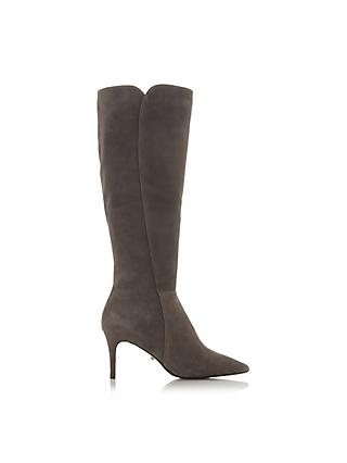 a97d97ad431 Dune Sakuraa Stiletto Heel Long Boots