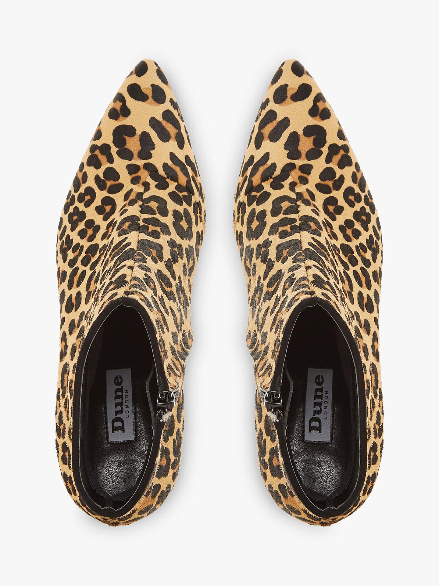 Dune Orra Kitten Heel Ankle Boots at