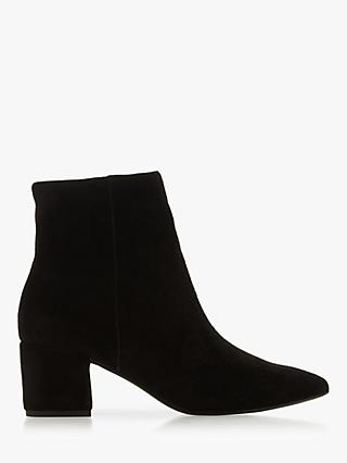 edfb7a5e9 Dune Omarii Block Heel Ankle Boots