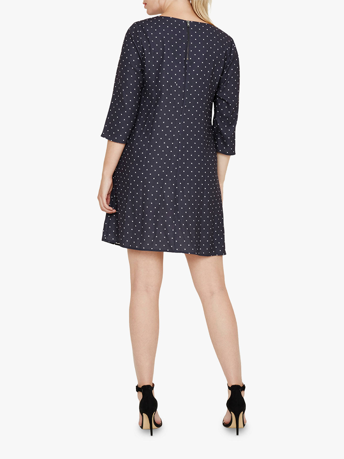 BuyStudio 8 Fia Star Dress, Grey, 14 Online at johnlewis.com