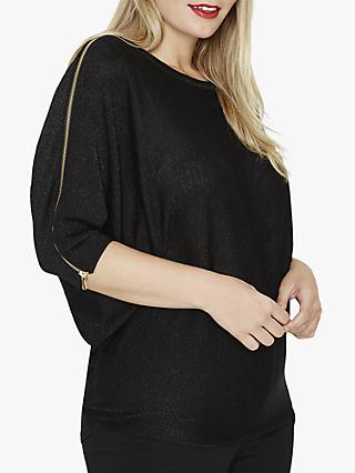 Studio 8 Addie Shimmer Jumper, Black