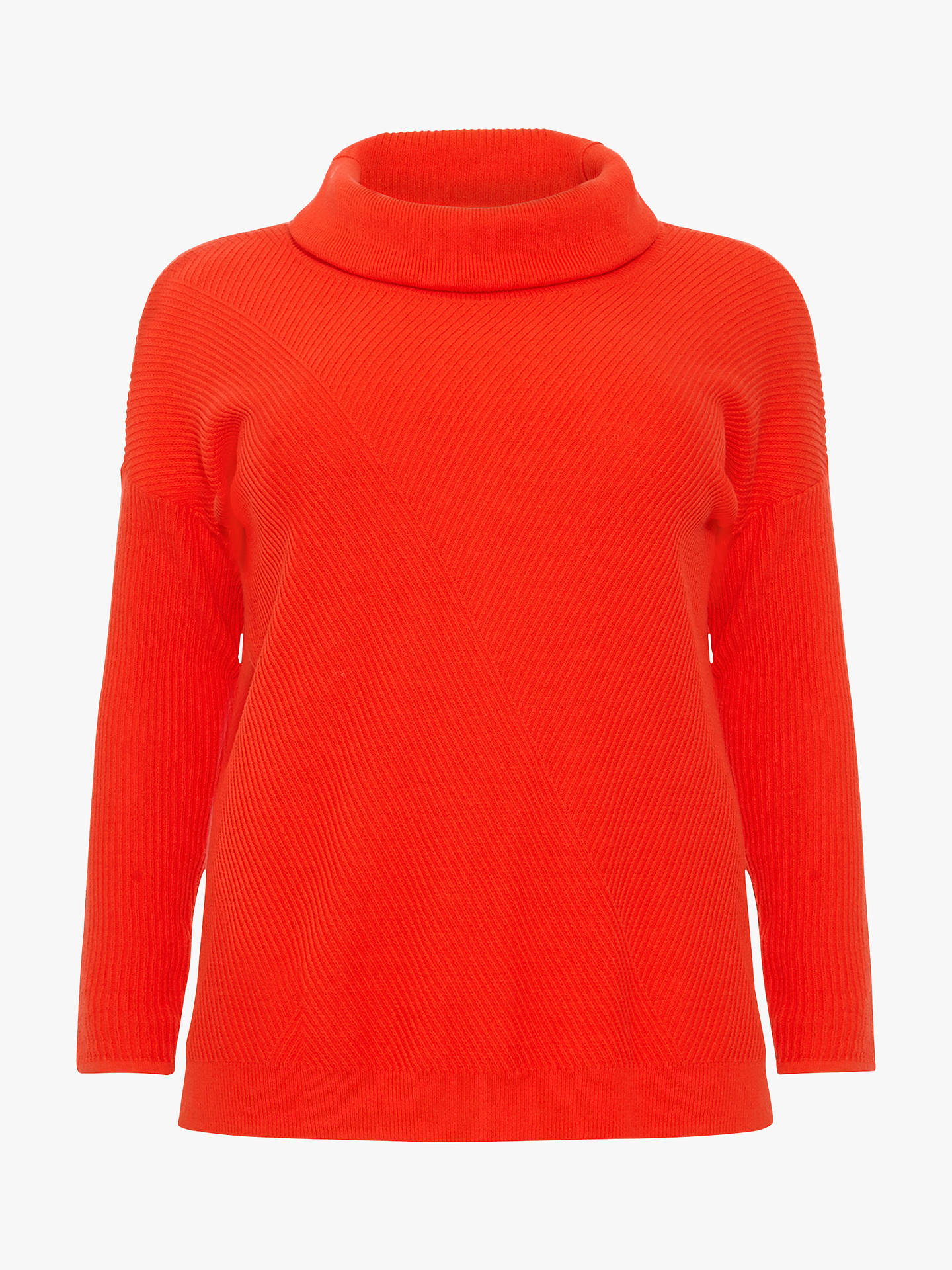 BuyStudio 8 Josie Cowl Neck Jumper, Red, 18 Online at johnlewis.com