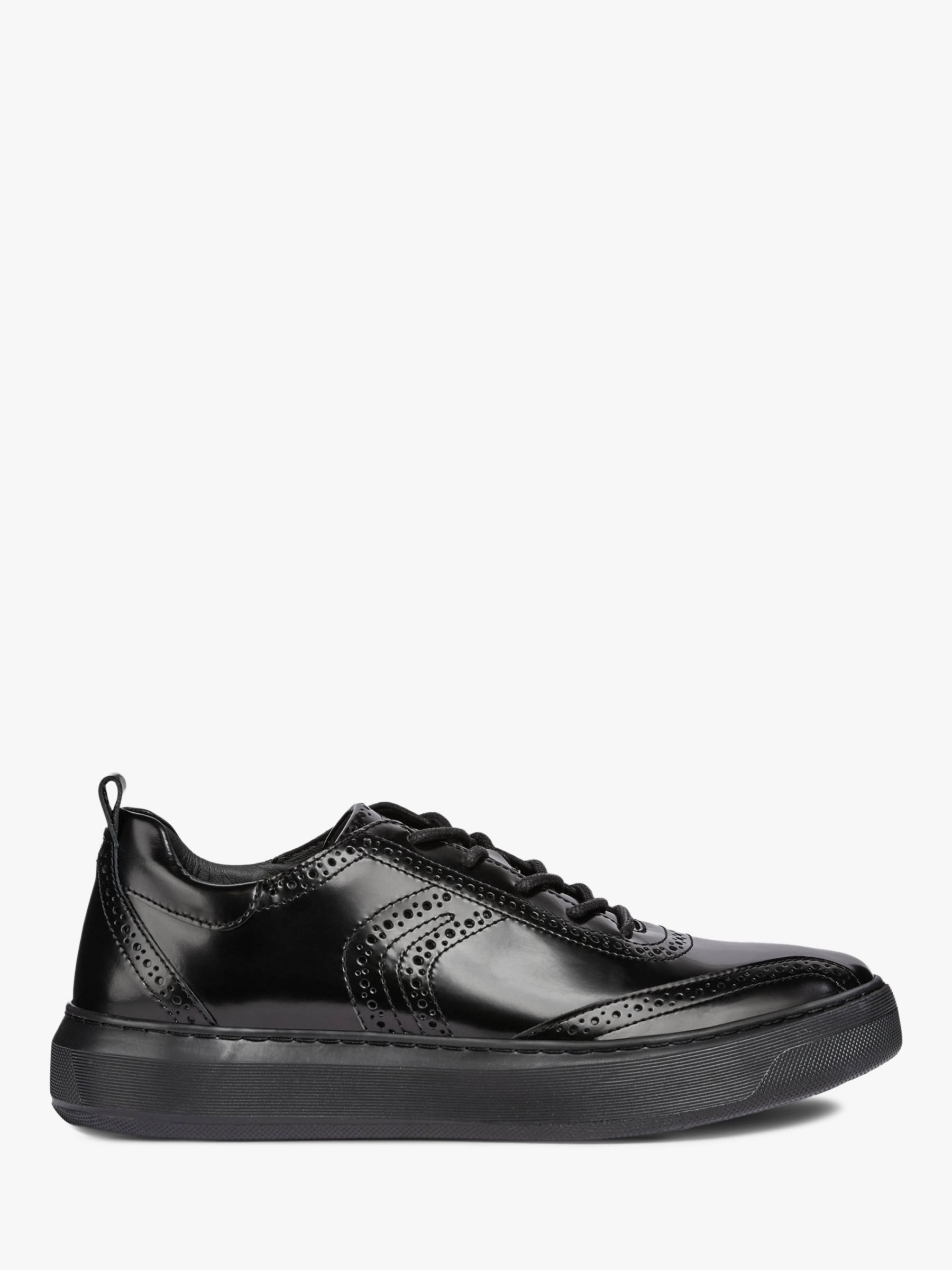 739742a705d Geox Deiven Breathable Trainers, Black at John Lewis & Partners