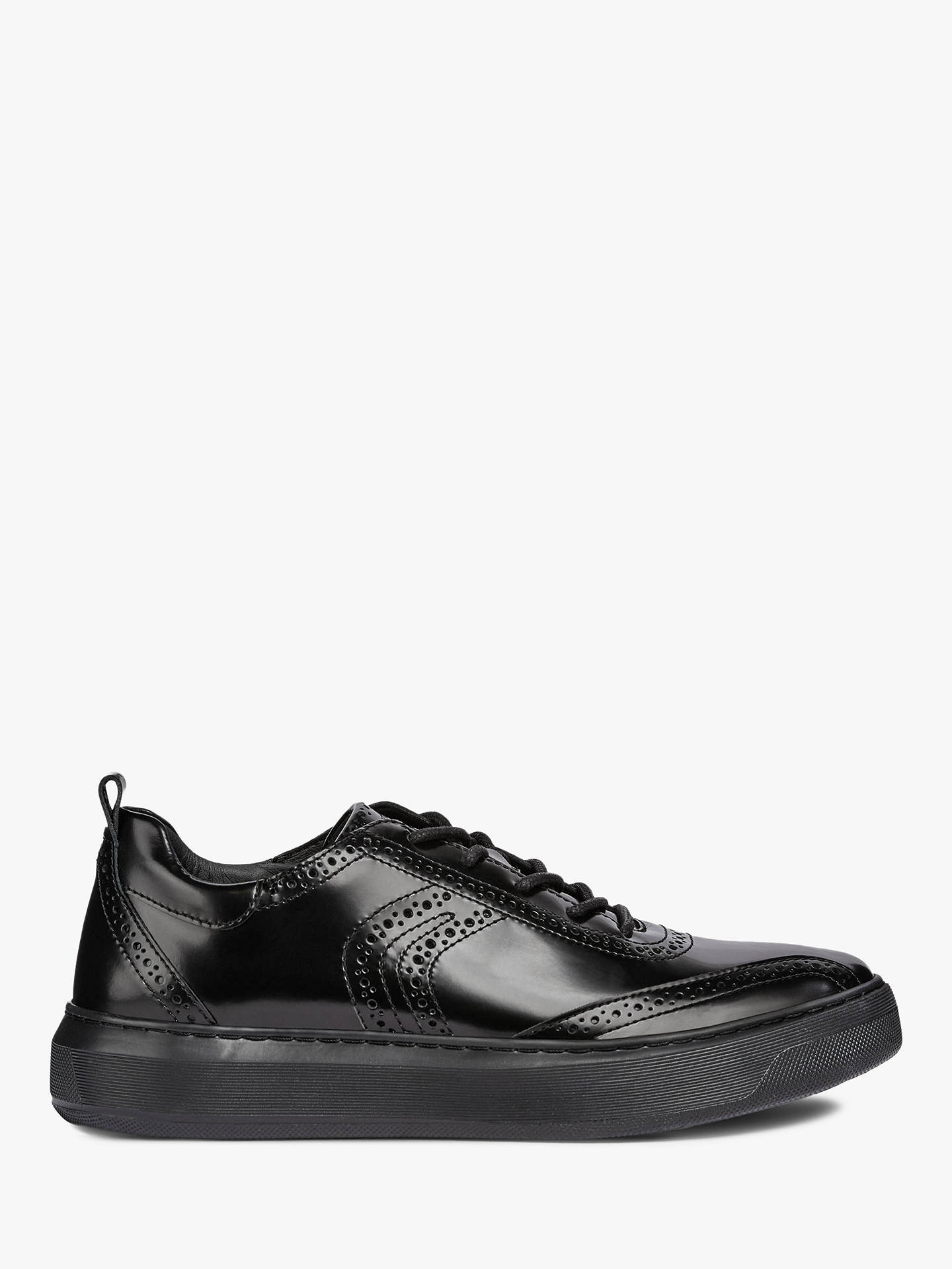 652ad1789f0 Buy Geox Deiven Breathable Trainers, Black, 6 Online at johnlewis.com ...
