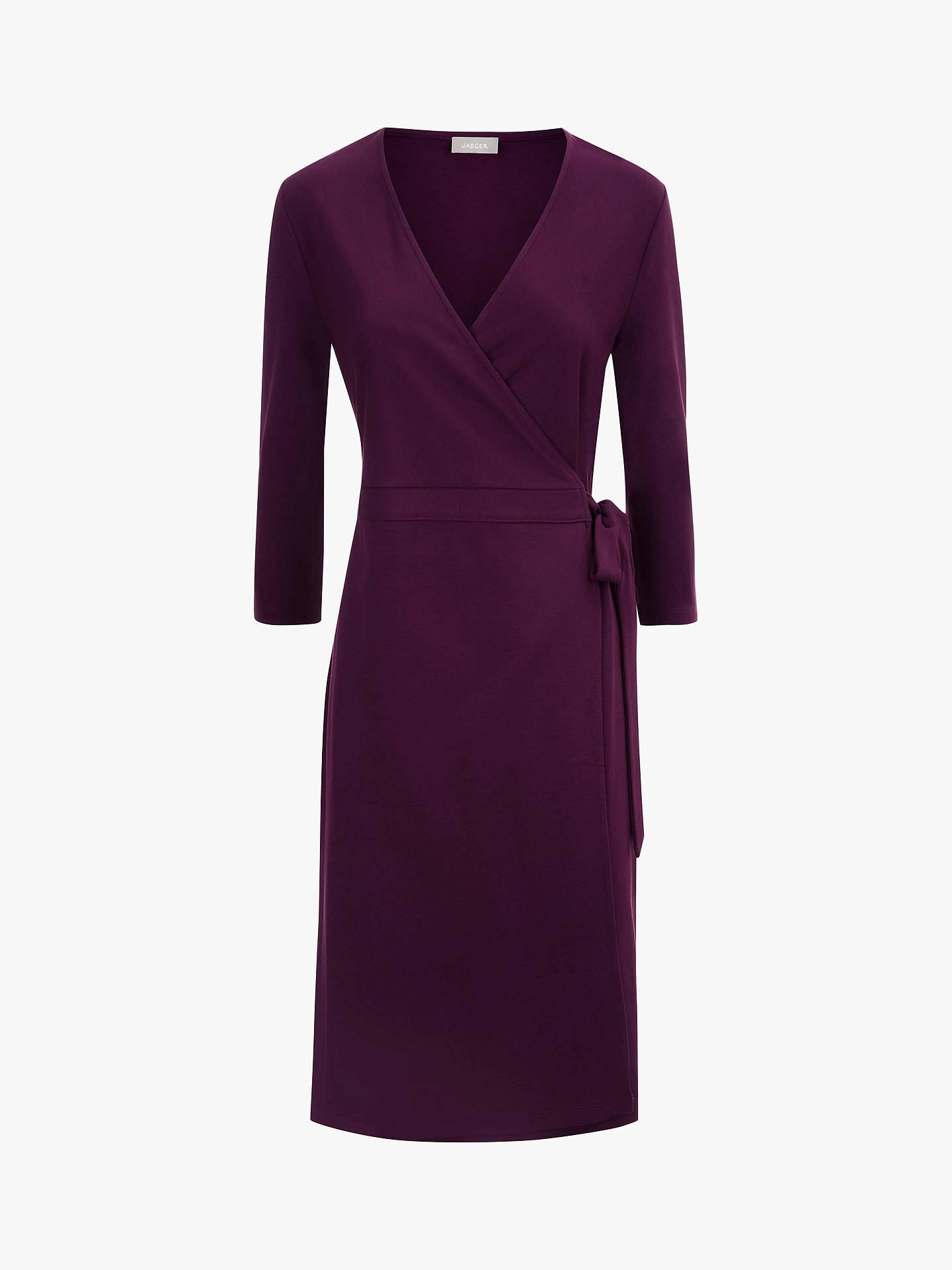 7bfef90c45 ... Buy Jaeger Jersey Wrap Dress