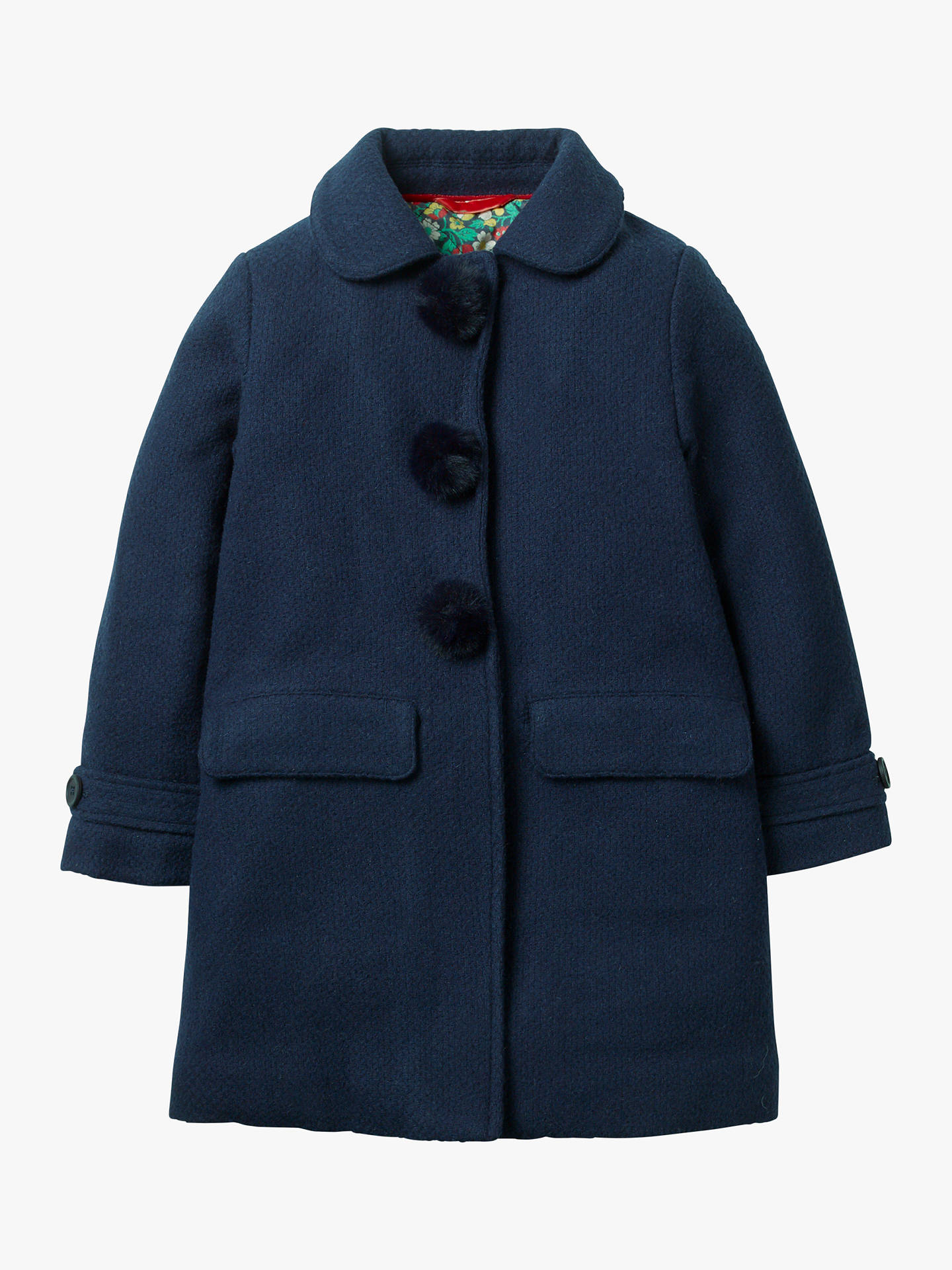 f69ece4b0e28 Buy Mini Boden Girls  Wonderful Wool Coat