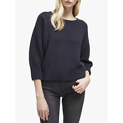 Image of French Connection Ottoman Mozart Jumper, Utility Blue
