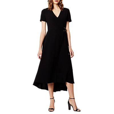 Karen Millen Wrap Dress, Black