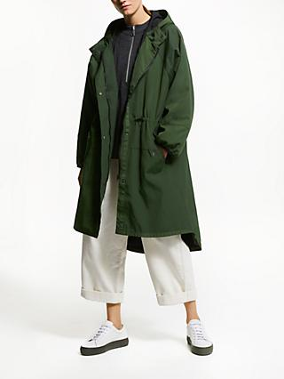 e4a63fce486fe6 Kin Longline Parka Coat