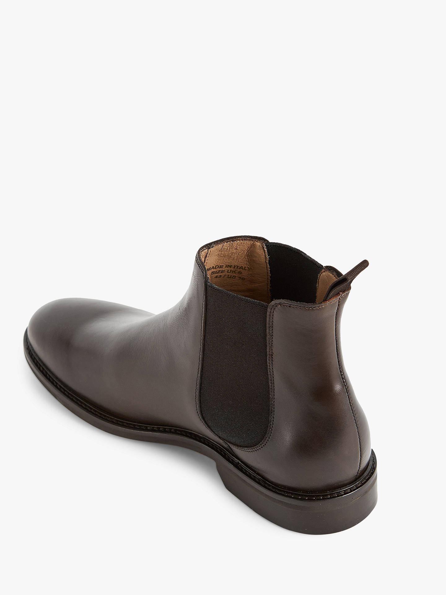 Buy Reiss Tenor Chelsea Boots, Dark Brown, 7 Online at johnlewis.com