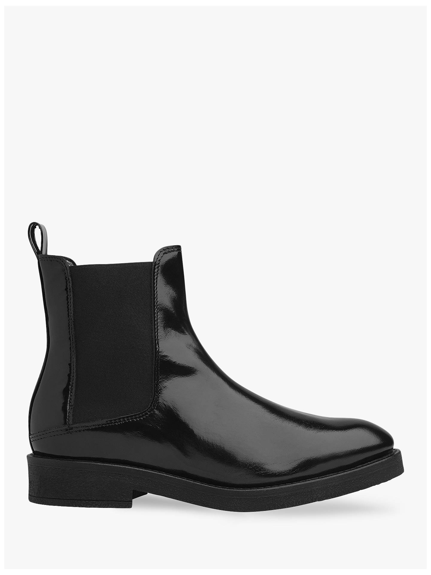 3ecb6a075 Whistles Arno Rubber Sole Chelsea Boots, Black at John Lewis & Partners