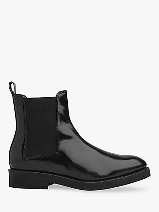 Whistles Arno Rubber Sole Chelsea Boots, Black
