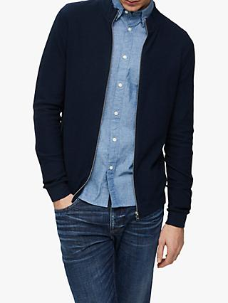 a6834f2aa6 SELECTED HOMME Tim High Neck Zip Cardigan