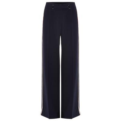 Damsel in a Dress Hannie Wide Leg Stripe Trouser, Navy/Multi
