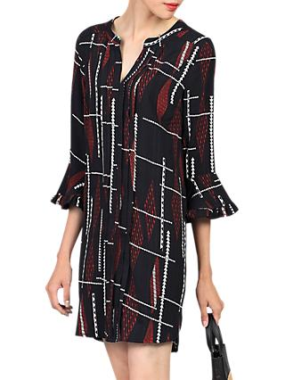 Jolie Moi Printed Tunic Dress