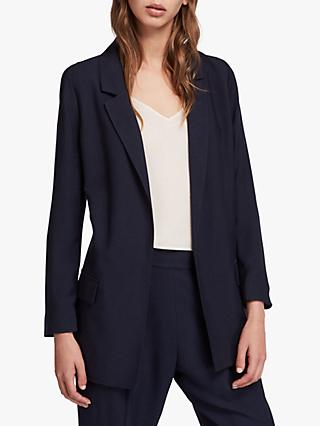 51dbbfa984c2 Allsaints Aleida Cotton Mix Blazer Jacket