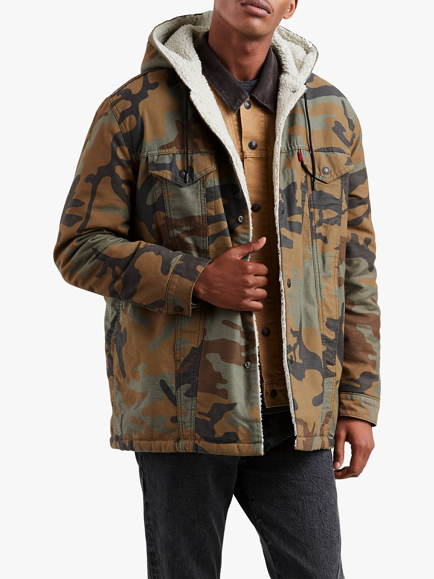 Levi's x Justin Timberlake Sherpa Long Hooded Trucker ...