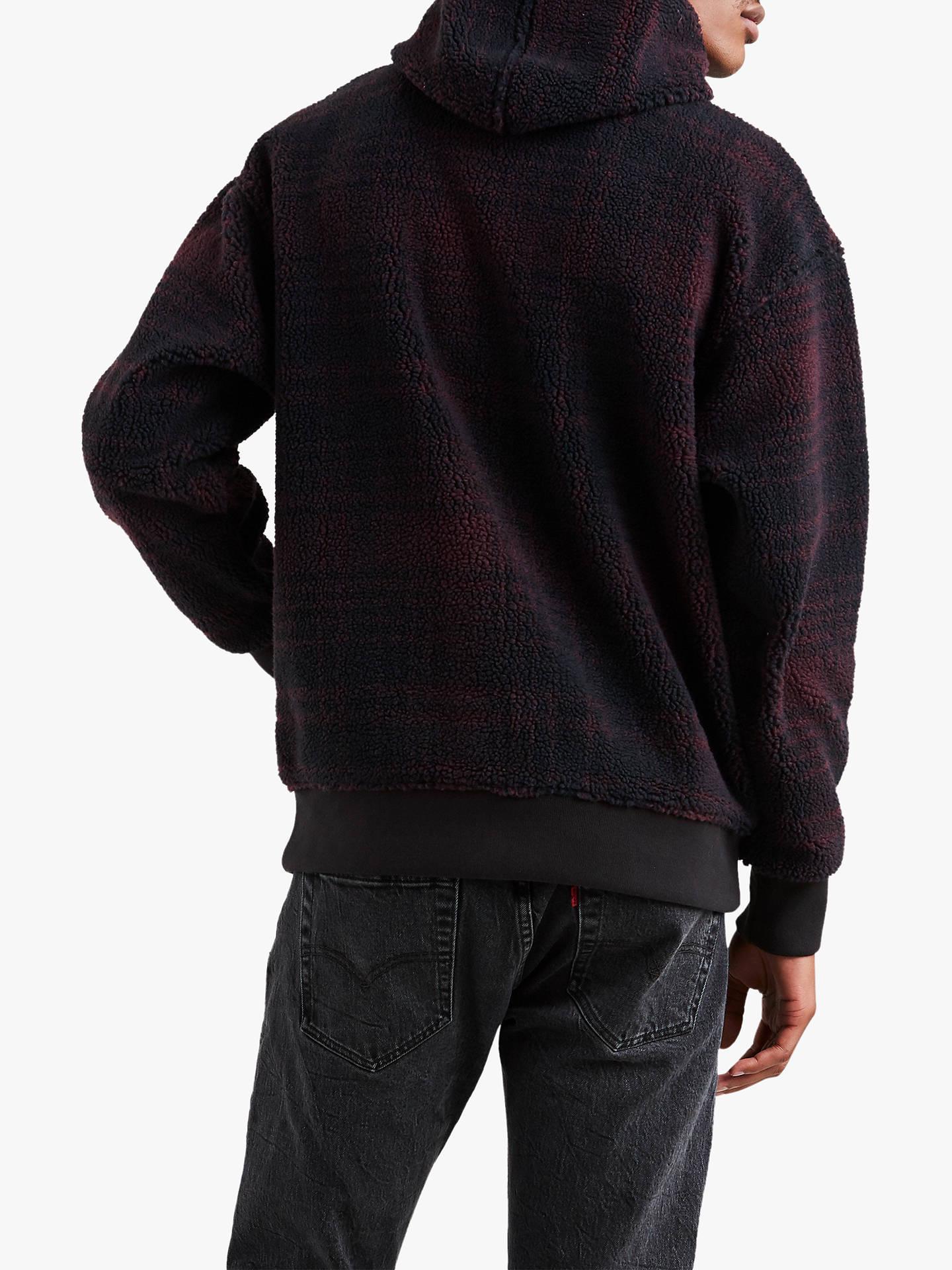 Levi's x Justin Timberlake Oversized Check Sherpa Hoodie