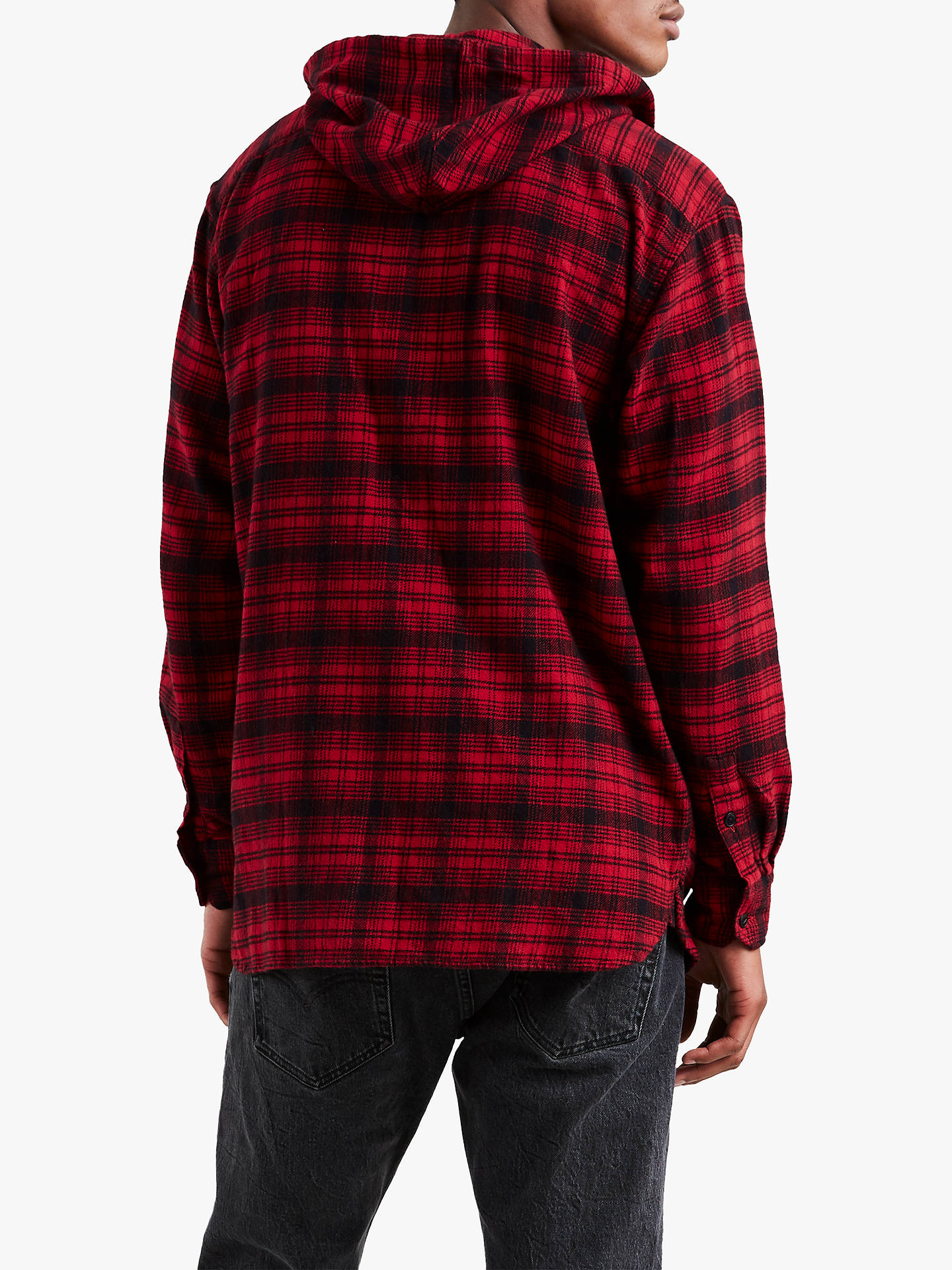 7cd7f2ca86dde0 ... Buy Levi s x Justin Timberlake Oversized Hooded Check Worker Shirt