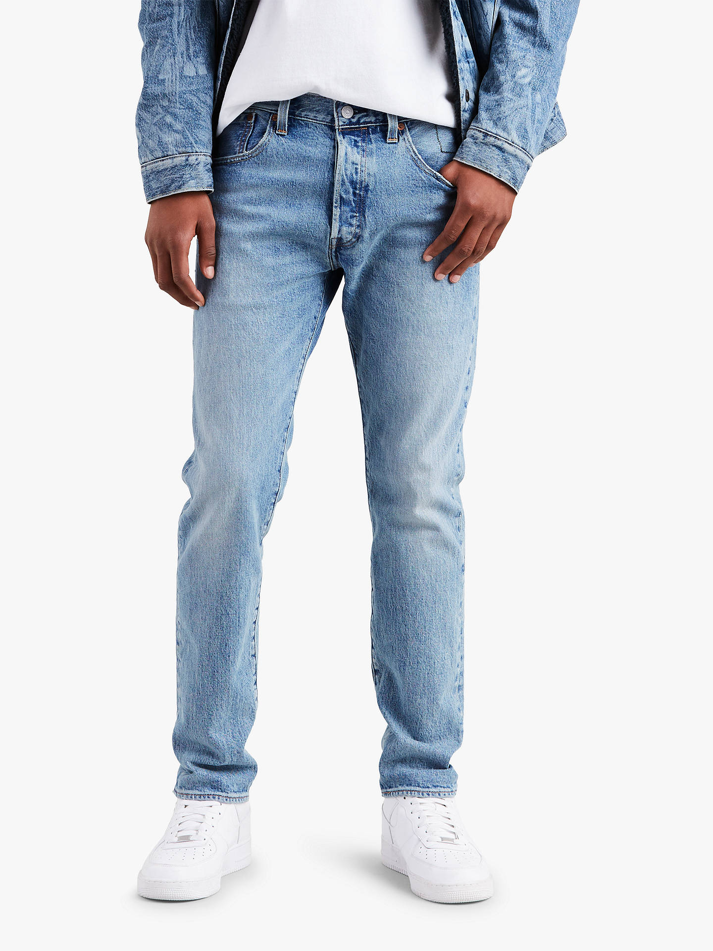73e2af63 Buy Levi's x Justin Timberlake 501 Slim Tapered Fit Jeans, Hillman, 32R  Online at ...