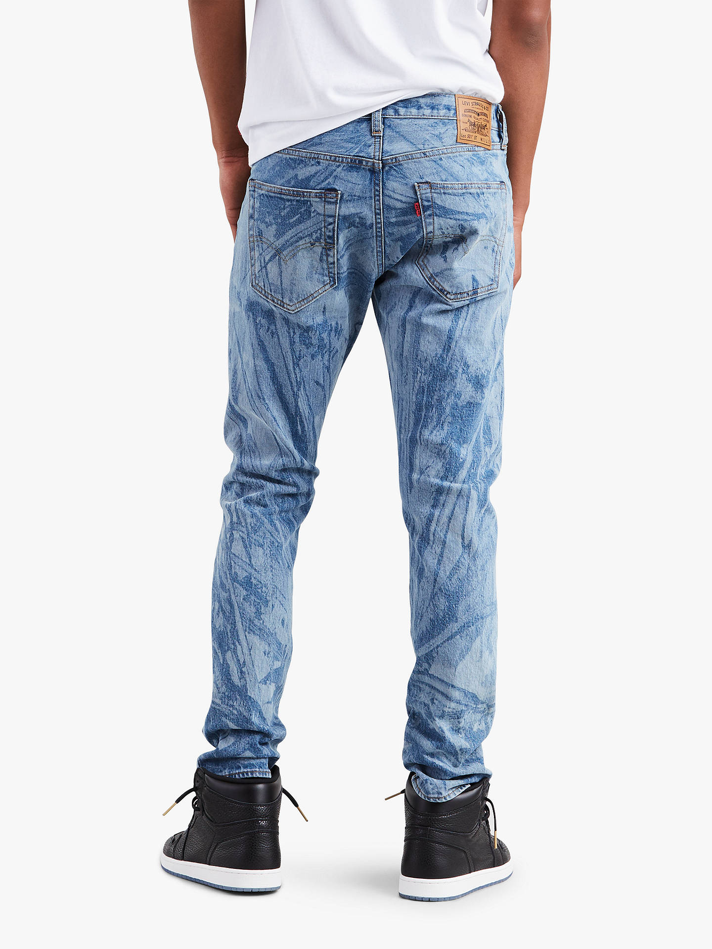 e428234b0917 ... Buy Levi s x Justin Timberlake 501 Slim Tapered Fit Ripped Jeans