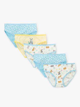 John Lewis   Partners Girls  Bunny Briefs 39e51fe83