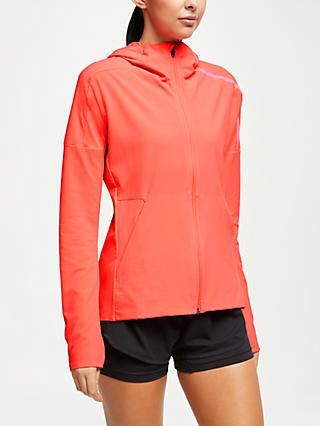 adidas Z.N.E Women's Running Jacket, Shock Red