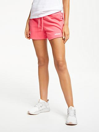 finest selection 63e5d 52517 adidas Essentials Solid Shorts, Prism Pink