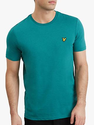 Lyle & Scott Marl Crew Neck T-Shirt, Alpine Green