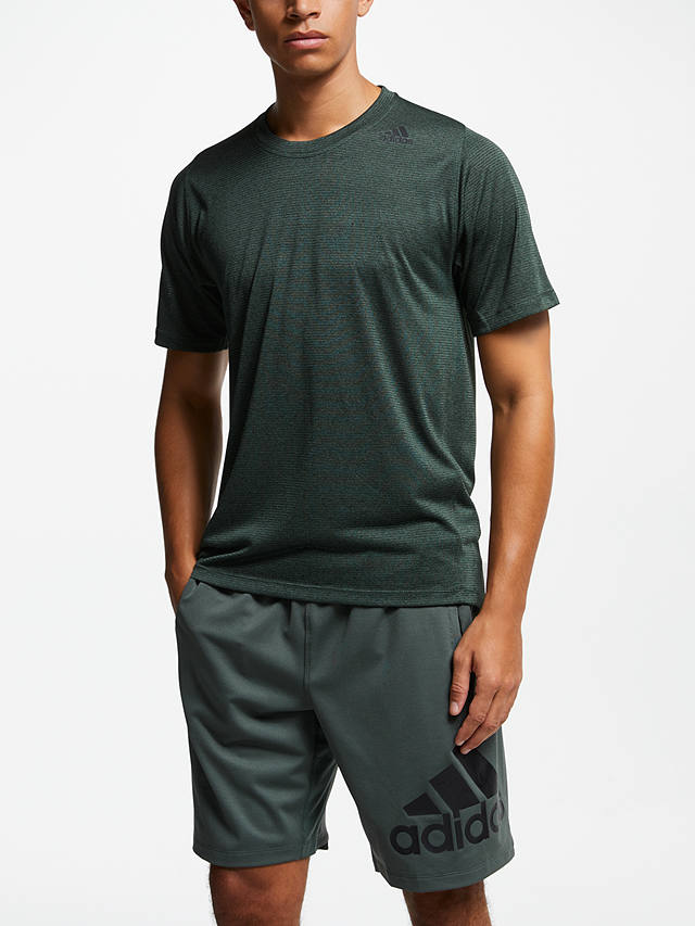 adidas FreeLift Tech Climacool Fitted Training T-Shirt, Legend Ivy ...